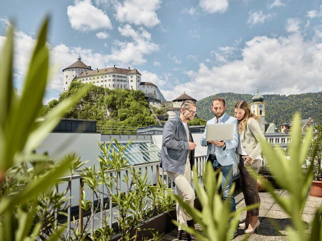 Stadtsaal Kufstein – Dachterrasse